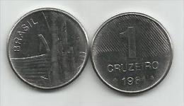 Brazil 1 Cruzeiro 1981. UNC FAO - Brésil