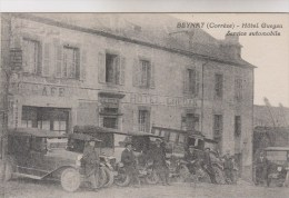 BEYNAT    HOTEL GUEGAN       SERVICE AUTOMOBILE - Francia