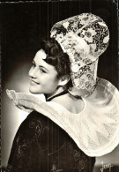 Cpsm  LA BRETAGNE 898. Coiffe Et Costume De QUIMPERLE Et Des Environs (Reine De Cornouaille 1954) - Quimperlé