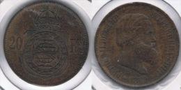 BRASIL 20 REIS 1869 Y BONITA - Brasil