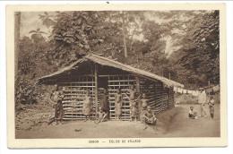 CPA - Afrique - GABON - Eglise De Village // - Gabon