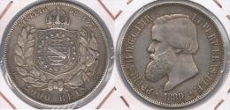 BRASIL 2000 REIS 1889 PLATA SILVER Y - Brasil