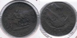CANADA HALF PENNY TOKEN 1854 Y PRECIOSA - Canada