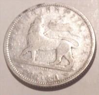 Ethiopia 1/4 Birr 1895 - Etiopia