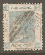 HONG KONG  Scott  # 15 VF USED - Hong Kong (...-1997)