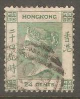 HONG KONG  Scott  # 18 VF USED - Hong Kong (...-1997)