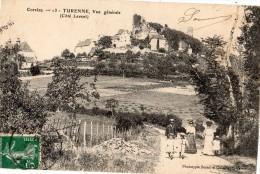 TURENNE VUE GENERALE (COTE LEVANT) ANIMEE - France