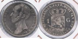 HOLANDA  GULDEN 1848 PLATA SILVER Y - [ 3] 1815-… : Reino De Países Bajos
