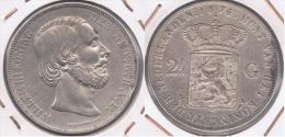 HOLANDA 2 Y MEDIO GULDEN 1874 PLATA SILVER Y - [ 3] 1815-… : Reino De Países Bajos