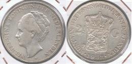 HOLANDA 2 Y MEDIO GULDEN 1932 PLATA SILVER Y - [ 3] 1815-… : Reino De Países Bajos