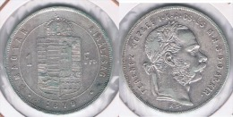 HUNGRIA FLORIN 1879 PLATA SILVER Y - Hungría