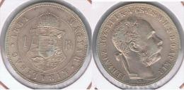 HUNGRIA FLORIN 1884 PLATA SILVER Y - Hungría