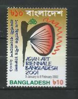 Bangladesh 2002 The 10th Asian Art Biennale, Dhaka.Art.MNH - Bangladesh