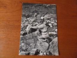 BIMBO  LUNGO TORRENTE      ''IL BUCATO DELL'ALPINO'' 1953 Circolata - Scene & Paesaggi