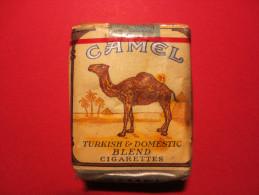 étui De Cigarettes - CAMEL - Made IN U.S.A - Ancien - Turkish & Domestic Blend Cigarettes - Cigarettes - Accessoires