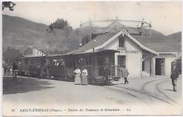 SAINT ETIENNE - Station Des Tramways De Gérardmer - Saint Etienne De Remiremont