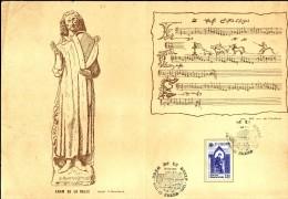 Adam De La Halle  -  YT   2366  - Encart Double Du Cercle Philatelique Artesien (1985) - France