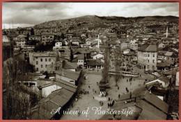 SARAJEVO - A View Of Bascarsija ( Original Art Photo ) * Islam Religion Mosquée Moschee Moschea Mezquita - Religion & Esotericism