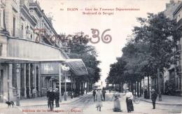 (21) Dijon - Gare Des Tramways Départementaux Boulevard De Sévigné - 2 SCANS - Dijon