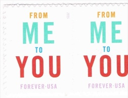 USA 2015 From Me To You 2 X 0.49c  MNH ** - United States
