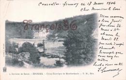 (21) Epoisses - Usine Electrique De Montberthault - 2 SCANS - France