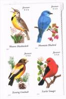 USA 2014 Songbirds 0.49c X 4  MNH ** - United States