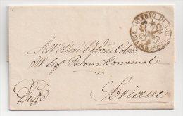 Préphilatélie - Lettre De Soriano 1869 - Italy