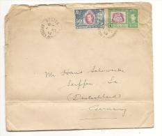 British Honduras Belize 1952, Air Mail Cover To Germany  (234) - Honduras Britannique (...-1970)