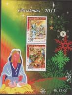 O) 2013 SRI LANKA, CHRISTMAS, SOUVENIR MNH - Sri Lanka (Ceylon) (1948-...)