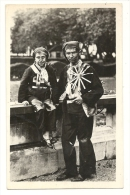 Cp, Folklore, Ramoneurs Savoyards - Costumes