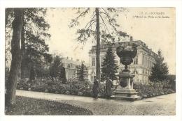 Cp, 18, Bourges, L´Hôtel De Ville Et Le Jardin, Voyagée 1914 - Bourges