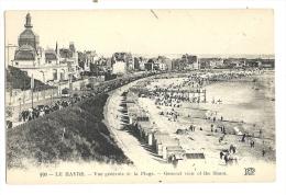 Cp,76, Le Havre, Vue Générale De La Plage - Le Havre