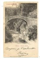 Cp, 07, Thueyris, Pont Du Diable, Voyagée - France