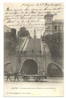 Cp, 44, Nantes, La Statue De Ste-Anne Et L'Escalier Aux Cent Marches, écrite 1903 - Nantes