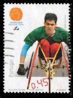 !! Portugal 2004 AF#3160ø Paralympic Games Sports Disabled Nice Stamp VFU (k0107) - 1910-... République