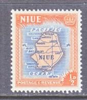 NIUE  94   **   MAP - Niue