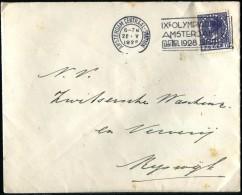 HOLANDA - Sobre Circulado El 22 De Mayo 1928 Por Los Juegos Olímpicos - Verano 1928: Amsterdam