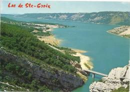 - CPM - LAC DE SAINTE-CROIX -- ECRITE ET AFFR AU VERSO .. - France