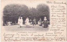 63. LA BOURBOULE. Danse Auvergnate (2) - La Bourboule