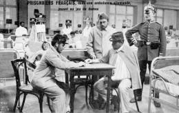 MILITAIRE(JEU DE DAMES) AMBULANCE - Cartes Postales