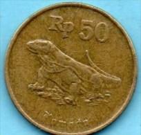 INDONESIE / INDONESIA  50  RUPIAH 1993