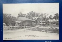 33 - CAP FERRET Par Arcachon -  RESTAURANT BELISAIRE FACE AU DEBARCADERE - Cachet Du Restaurant - Arcachon