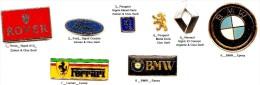 Logo Automobile_Ferrari_BMW_Rover_Autres_1 Pin´s Aux Choix Sur 8 Présentés _Envoi Gratuit_ - Badges