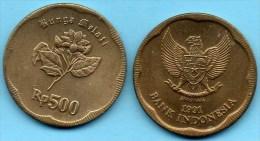 INDONESIE / INDONESIA  500 RUPIAH 1991