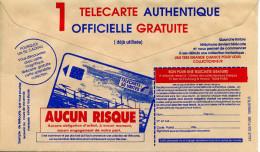 Sciences,telecom,telecarte Sur CCP,lettre Publicitaire De La Poste - Telekom