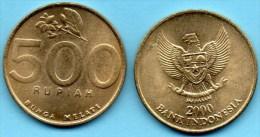INDONESIE / INDONESIA  500 RUPIAH 2000