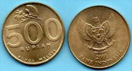 INDONESIE / INDONESIA  500 RUPIAH 2001
