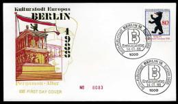 35677) Berlin - Michel 800 - FDC - Kulturhauptstadt Europas - [5] Berlín