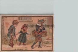 Chromo PICARD Magasin De Deuil à Genève - L´Avarice - Scans Recto-verso - Trade Cards