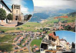 ARDECHE CPM CPSM COUCOURON MULTIVUES (carte Tachée Au Verso) - Autres Communes